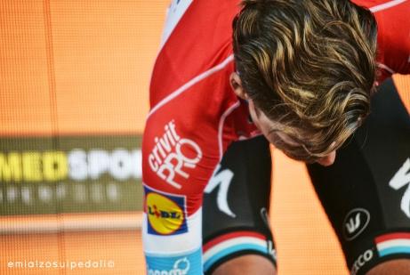 Giro d'Italia 2017 - Bob Jungels podium
