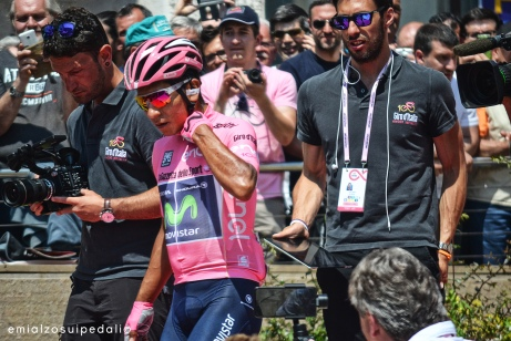Giro d'Italia 2017 Nairo Quintana_maglia rosa