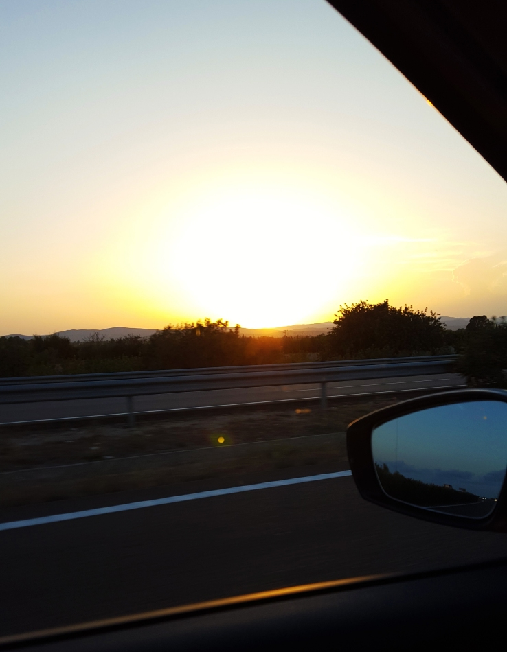 on the road spagna