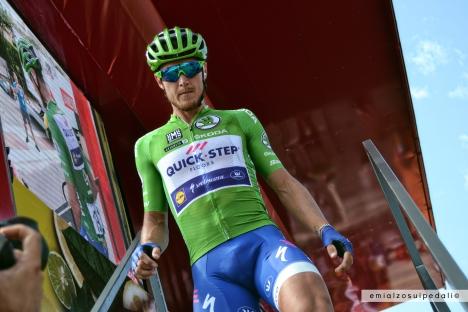 matteo trentin green jersey vuelta
