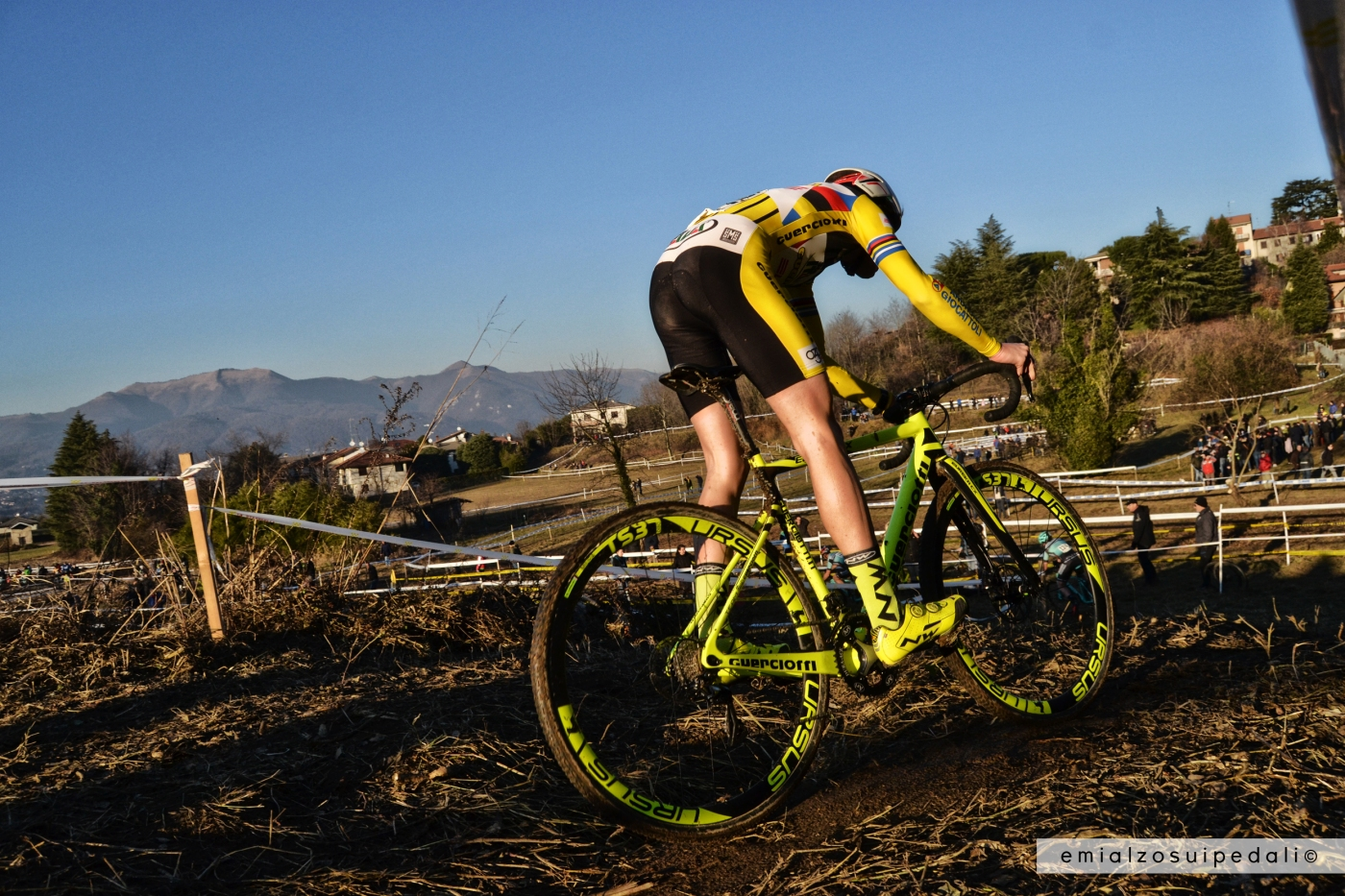 foto ciclocross della vigilia lurago