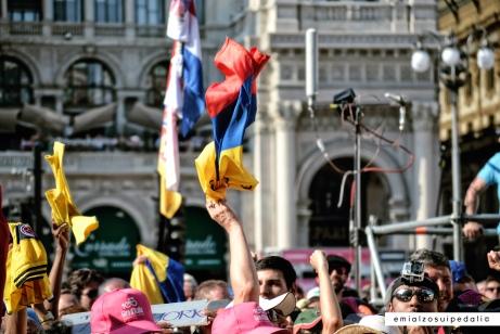 Giro 100- Milano Piazza Duomo