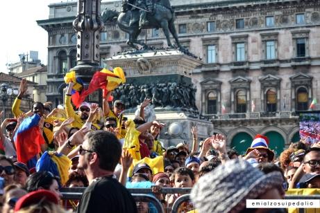 Milano Piazza Duomo Giro 100