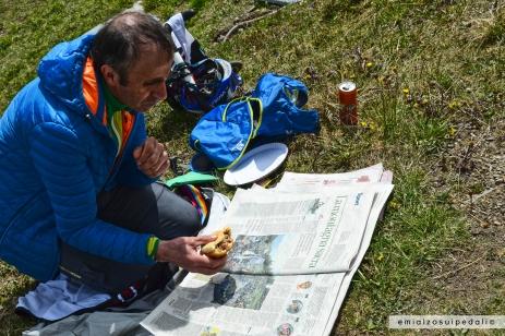 foto giro d'italia zoncolan la montagna sacra