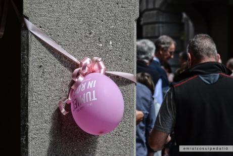 tolmezzo palloncini giro d'italia