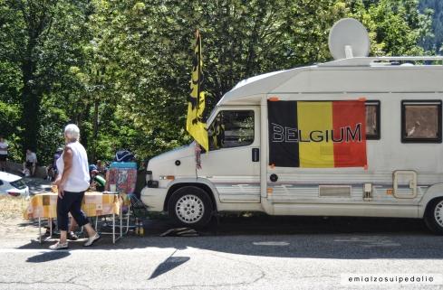 foto camper belgio alpe d'huez